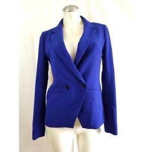 Madewell Buckley Size 4 Solid Blue Blazer